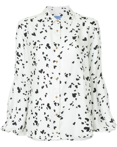Блузка с рукавом-колоколом с принтом Macgraw