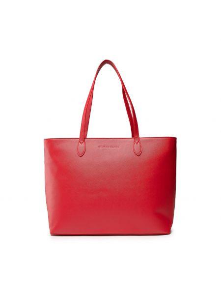 Czerwona klasyczna torebka Silvian Heach