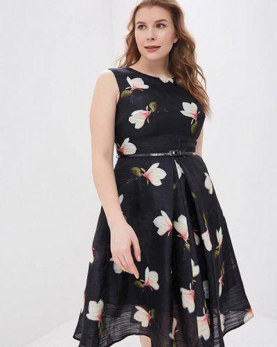 Повседневное платье черное Calista