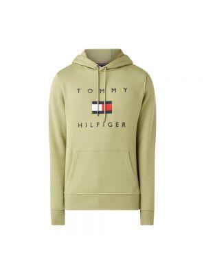 Zielona bluza z kapturem Tommy Hilfiger