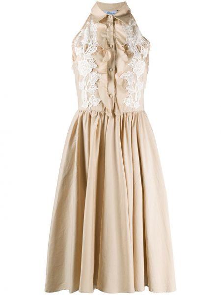 Кружевное платье Blumarine