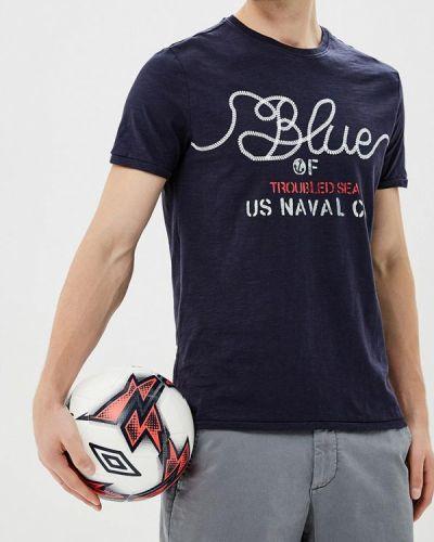 Синяя футболка Ovs