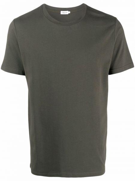 T-shirt bawełniana - zielona Filippa K