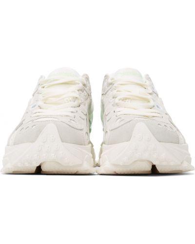 Замшевые кроссовки - белые Li-ning