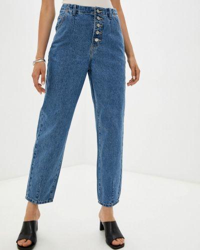 Прямые джинсы - голубые Zarina