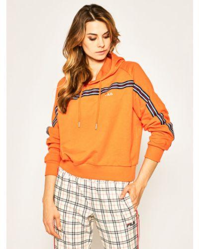 Bluza - pomarańczowa Fila