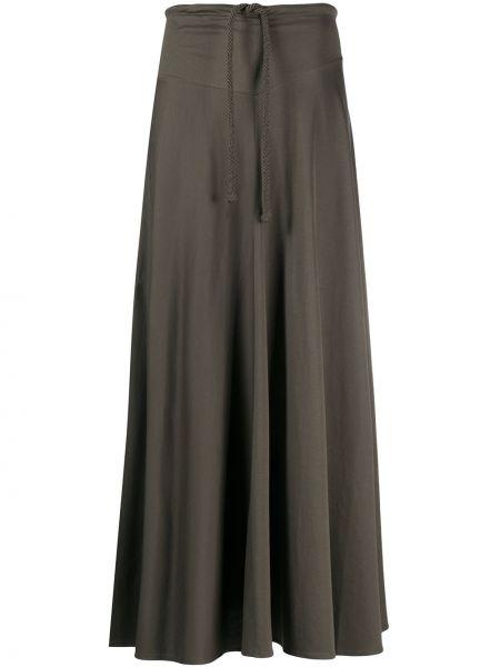Spódnica maxi plisowana z wysokim stanem Lemaire