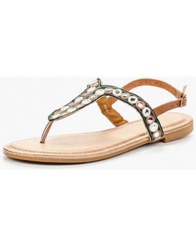 Коричневые сандалии Chicmuse