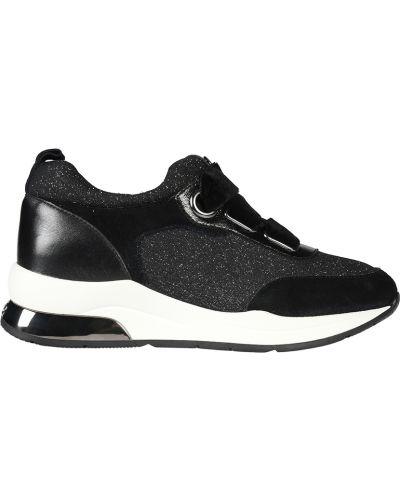 Кроссовки замшевые черный Liu Jo