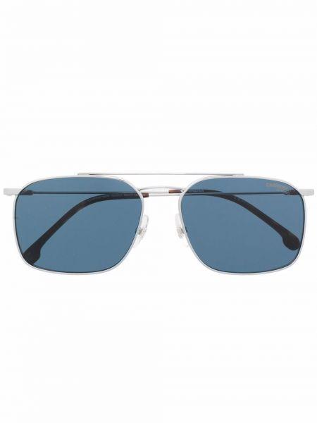 Okulary srebrne - niebieskie Carrera