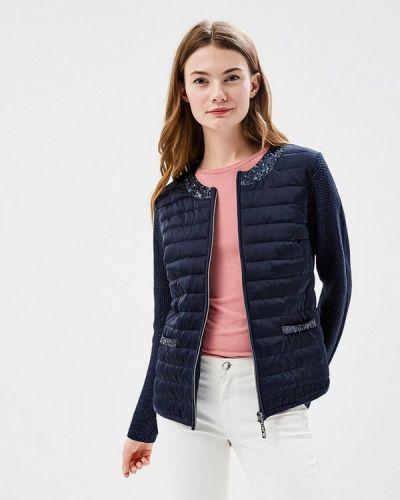 Синяя утепленная куртка Betty Barclay