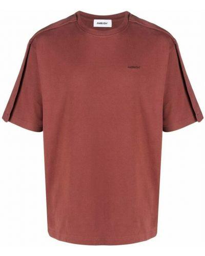 Czerwona t-shirt Ambush