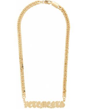 Ожерелье из золота Vetements