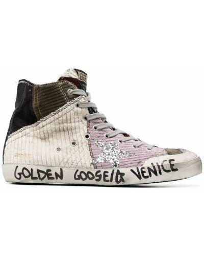 Sneakersy - beżowe Golden Goose
