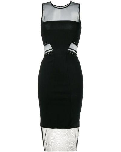 Облегающее платье миди - черное Gaelle Bonheur