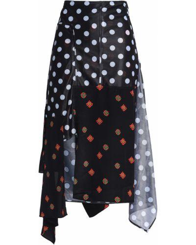 Трикотажная юбка миди - черная J.w.anderson