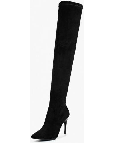 Черные ботфорты Grand Style
