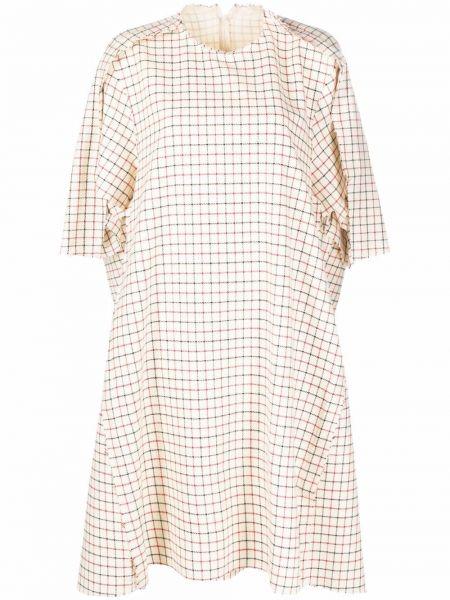 Шелковое платье Maison Margiela