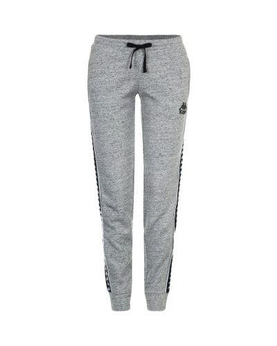 Спортивные брюки хлопковые с карманами Kappa