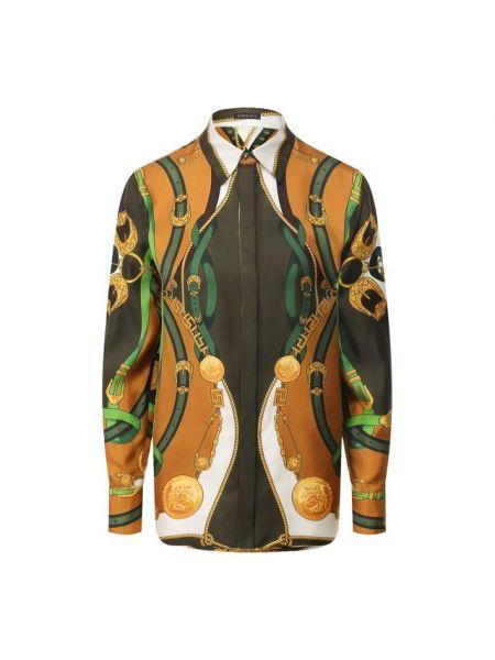Рубашка шелковая Versace