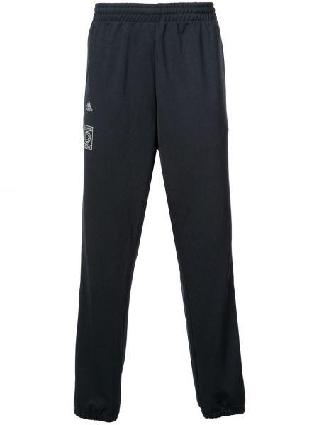 Prążkowane czarne spodnie do biegania Yeezy