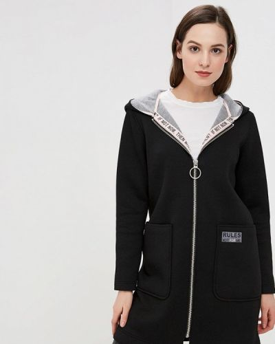 Куртка черная весенняя Ostin