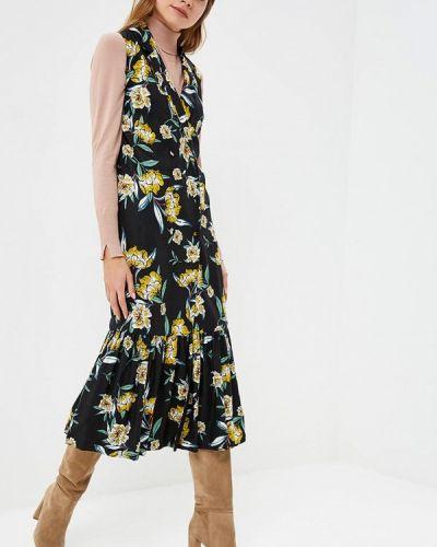 Платье с запахом осеннее Lolita Shonidi