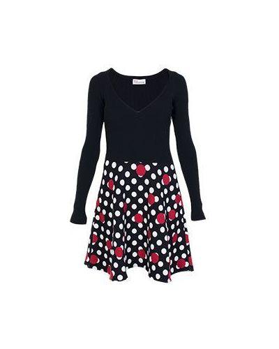 Черное платье casual Valentino Red