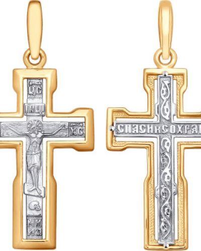 Золотистый желтый крест Sokolov
