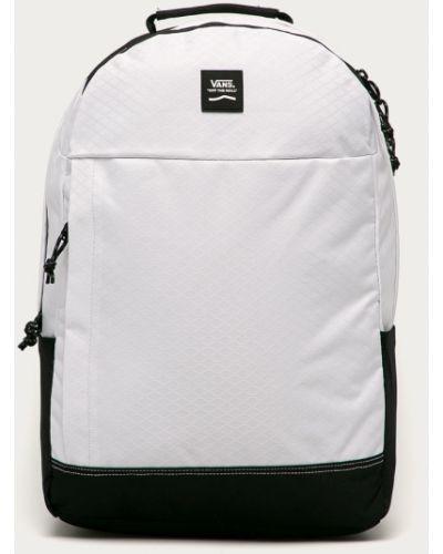 Biały plecak z nylonu Vans
