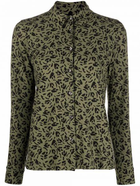 Длинная рубашка - зеленая A.p.c.