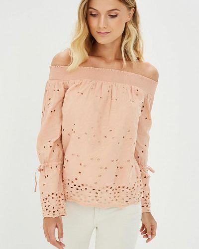 Блузка с открытыми плечами розовая Dorothy Perkins