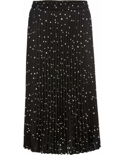 Плиссированная юбка леопардовая в горошек Bonprix