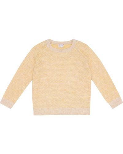 Шерстяной свитер - желтый Morley