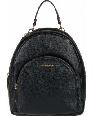 Кожаный рюкзак - черный Coccinelle