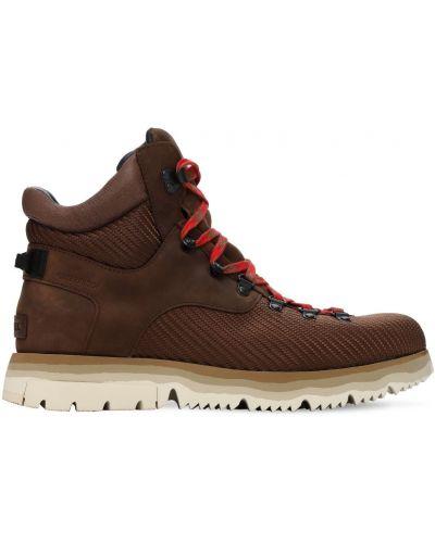 Водонепроницаемые кожаные ботинки на шнуровке Sorel