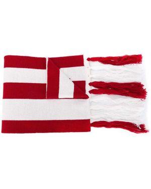 Шерстяной красный шарф Gcds Kids