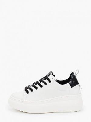 Белые резиновые кроссовки Lamania