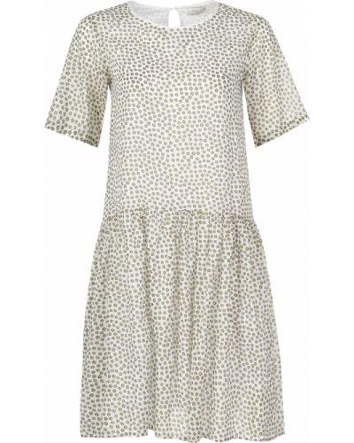 Хлопковое платье - белое Cappellini