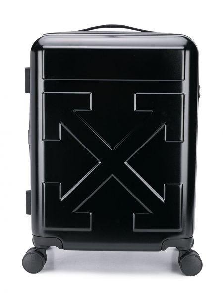Czarna walizka Off-white