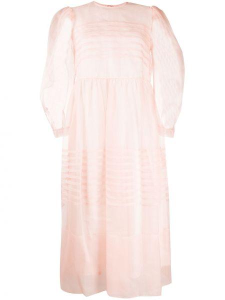 Платье мини миди со вставками Simone Rocha