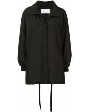 Черное пальто на пуговицах Le Ciel Bleu