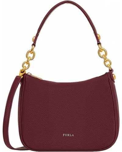 Кожаная сумка на цепочке маленькая Furla