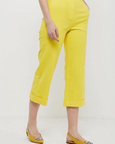 Желтые брюки Topshop