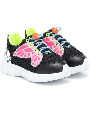 Sneakersy z siatką Sophia Webster Mini