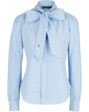 Рубашка синяя Polo Ralph Lauren