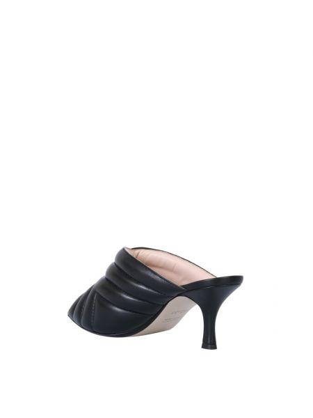 Czarne sandały N°21