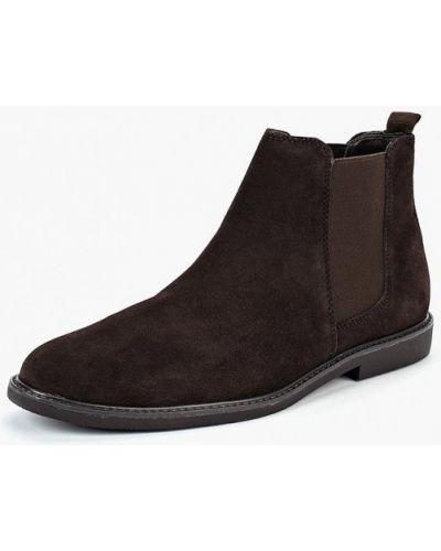 Ботинки осенние замшевые челси Zign