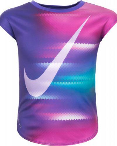 Спортивная футболка для фитнеса из полиэстера Nike