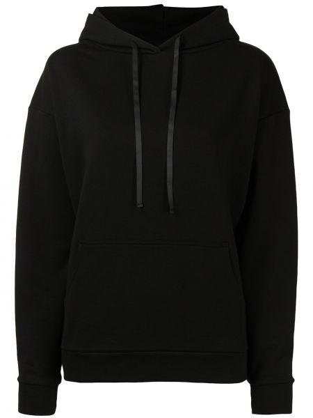 Czarny sweter bawełniany Miaou